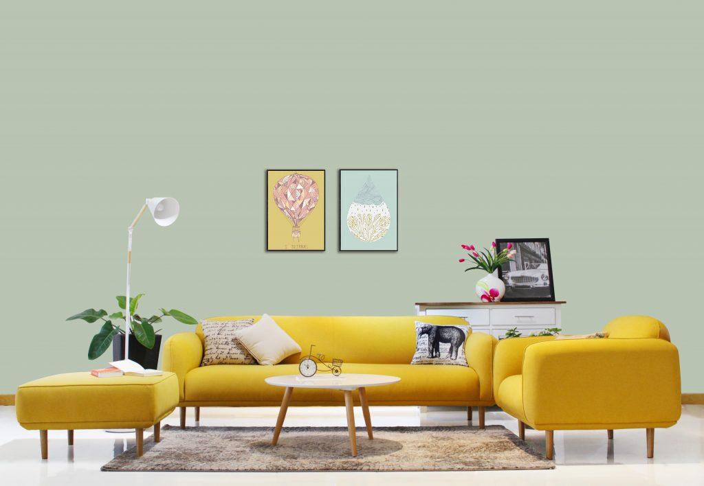 Furnist Sofa Vải 3 Chỗ Orinoco